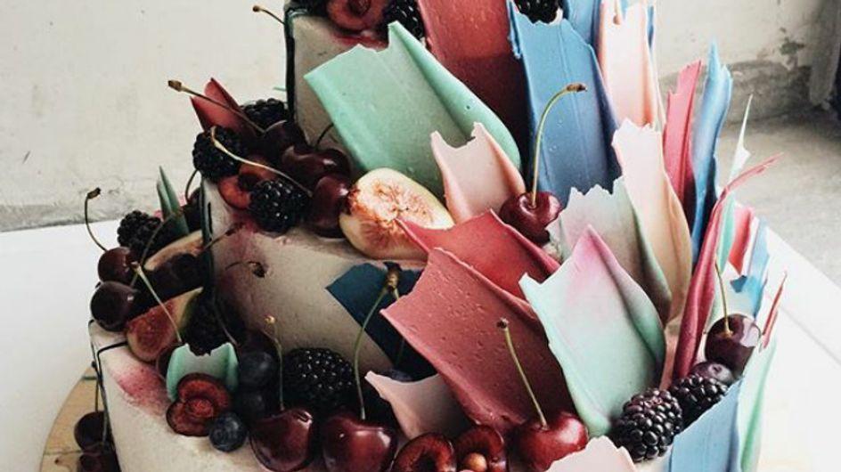 Brushstroke, las tartas rusas que desafían la gravedad y encantan en Instagram