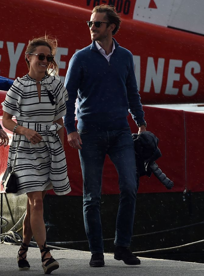 Pippa Middleton et James Matthew