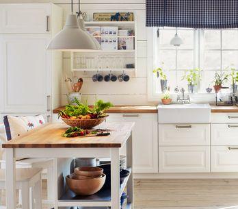 7 errores de decoración que hacen que tu cocina parezca más pequeña