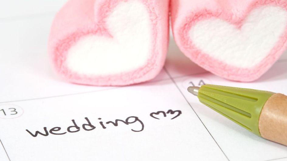 Vuoi sposarti nel 2018? Ecco le date da considerare e quelle da evitare!