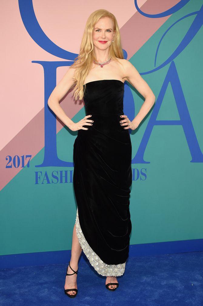 Nicole Kidman lors des CFDA Fashion Awards