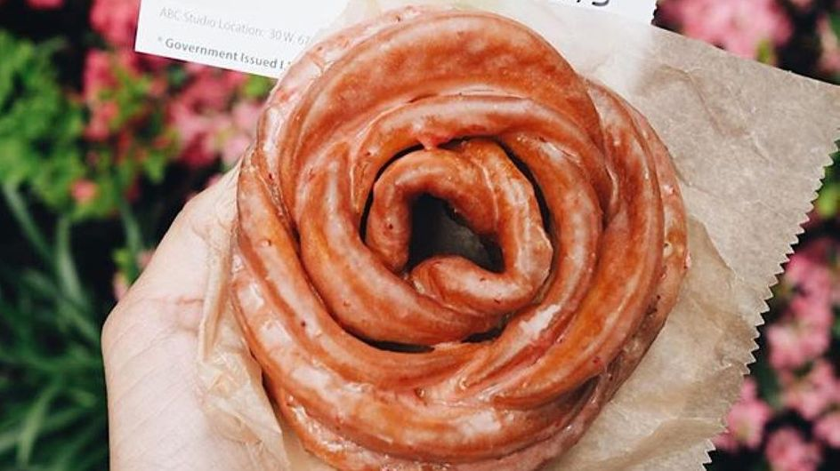 Estos dónuts que parecen rosas harán más dulce tu verano (si estás en NY)