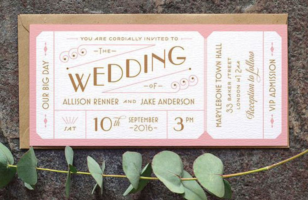 21 Save The Date Ideas That'll Have Your Guests RSVP-ing Hell Yeah