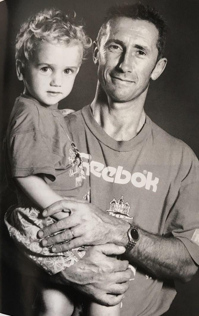 Antoine Griezmann et son papa Alain