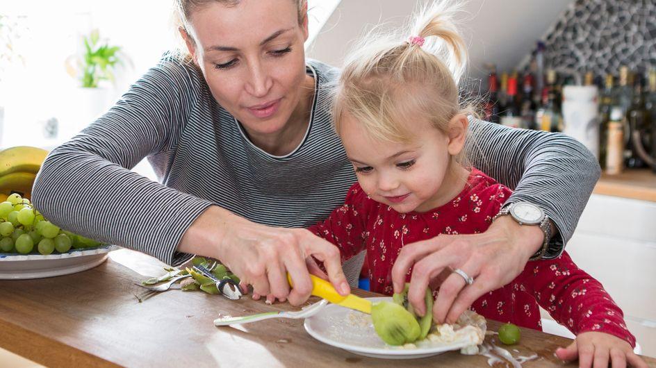 Cómo conseguir que los niños coman fruta y verdura