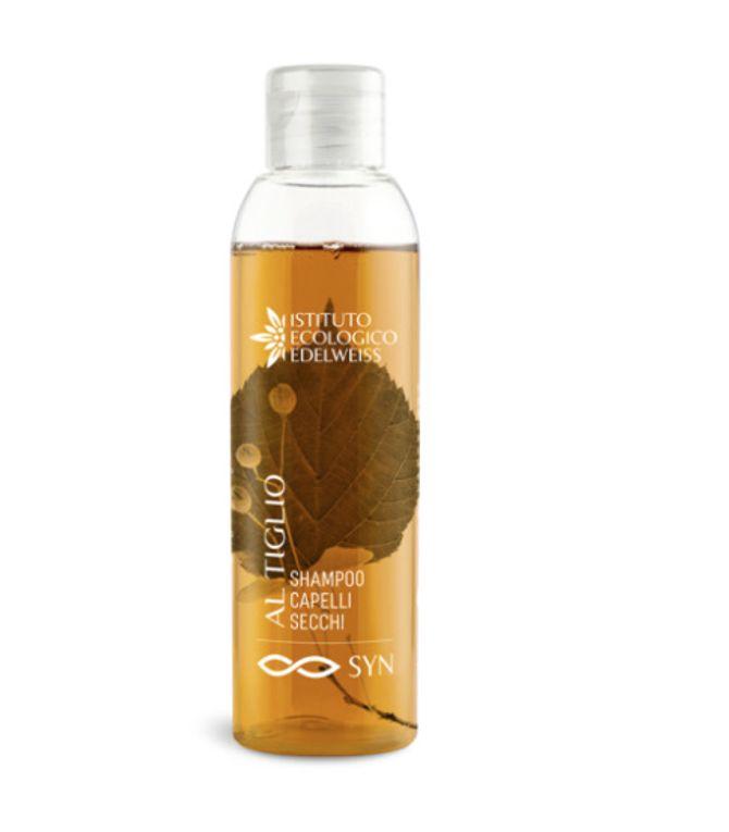 Shampoo per capelli secchi al Tiglio Edelweiss