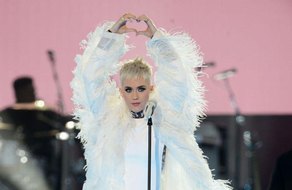 Katy Perry y su vestido homenaje a las víctimas de Manchester, mejor look de la semana