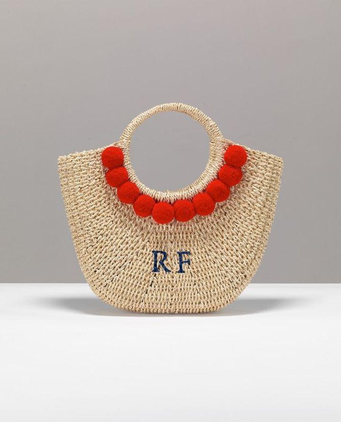 Le panier personnalisable Martha Pompon de Rae Feather, 176 euros sur le site