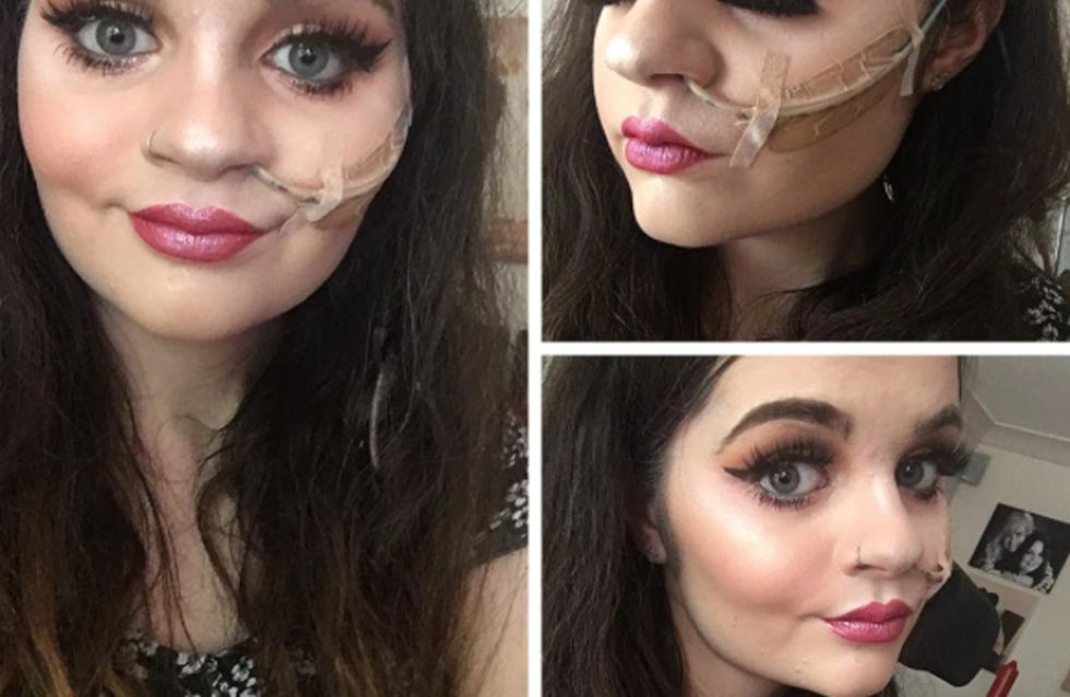 This Makeup Artist Blogger With A Feeding Tube Is Defying Beauty Standards, One Fire Selfie At A Time