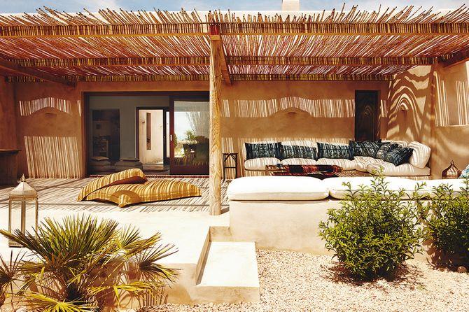 """1. La casa """"natural"""" de Eugenia Silva en Formentera"""