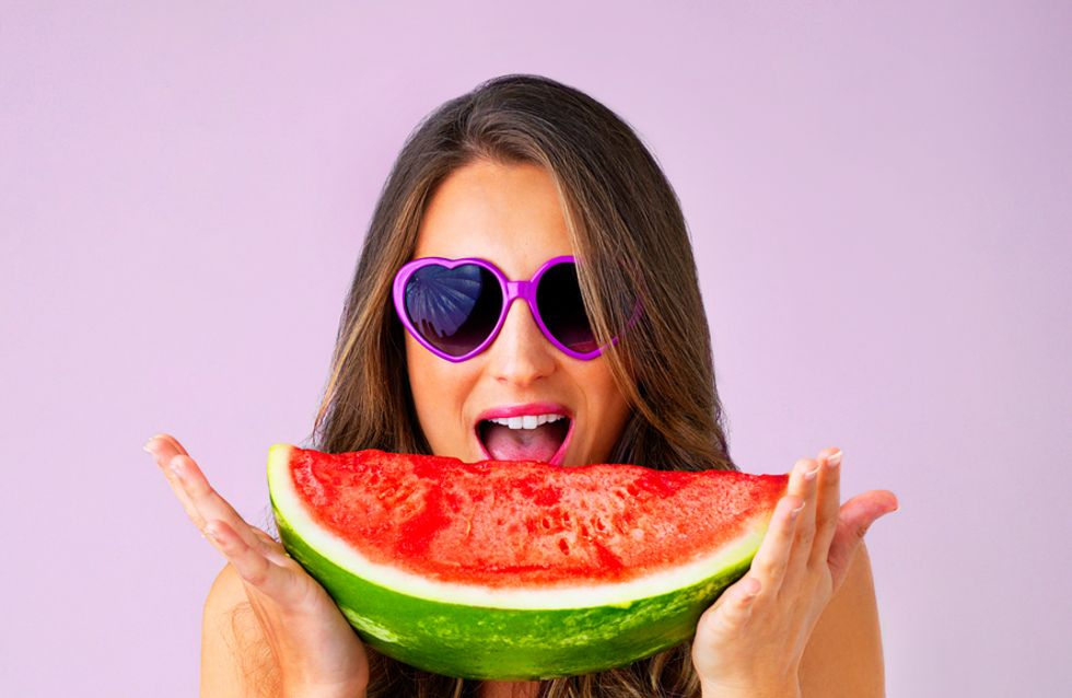 Le maquillage pastèque, la nouvelle tendance de l'été ?