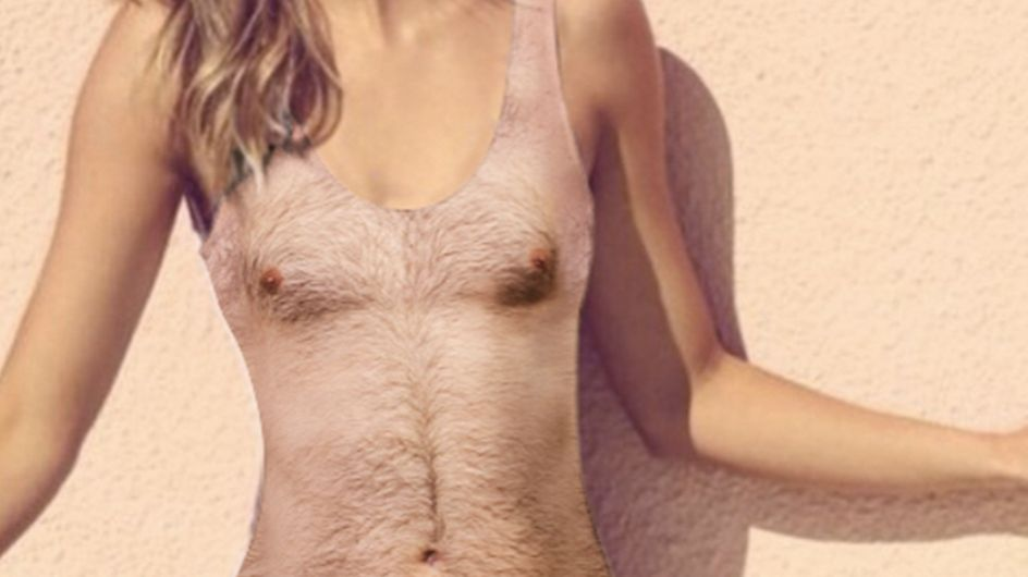 If You Find Hairy One Piece Swimsuits Offensive, Look Away Now
