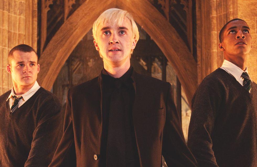 Drago Malefoy n'est pas celui que vous croyez... La preuve avec cette scène coupée de Harry Potter ! (Vidéo)