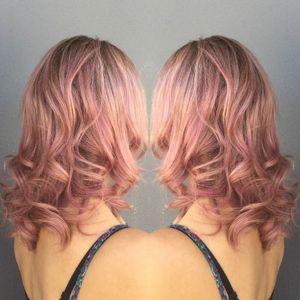 """Coloration """"Champagne rosé"""""""