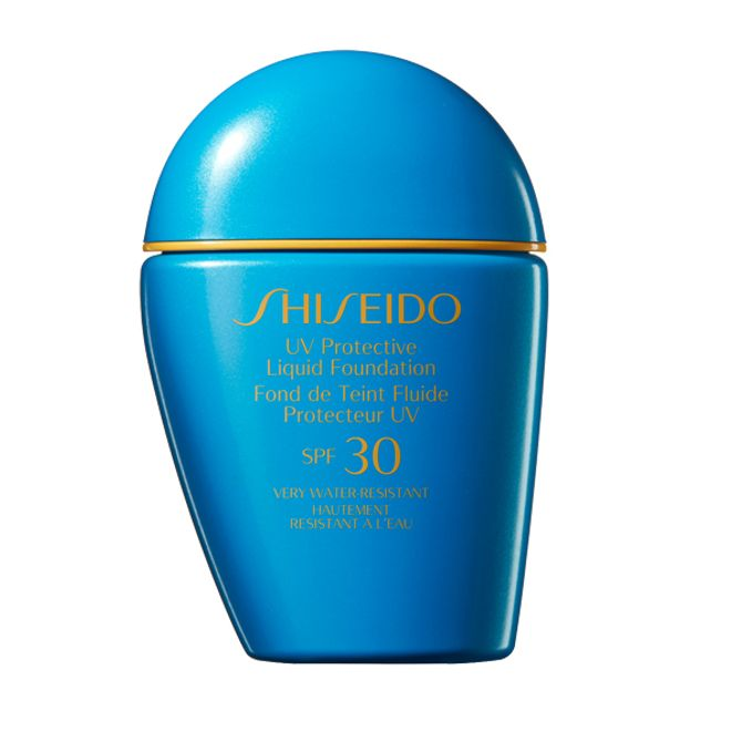 Fond de teint fluide protecteur UV SPF 30, 38,50€, Shiseido