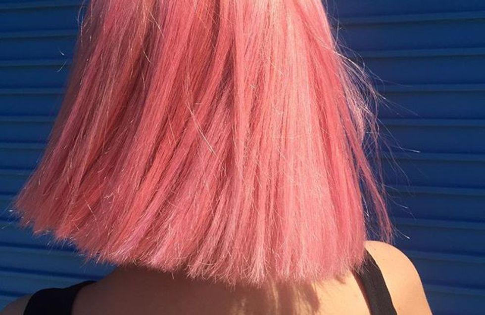 """""""Champagne rosé"""", la dernière coloration qui nous fait tourner la tête"""