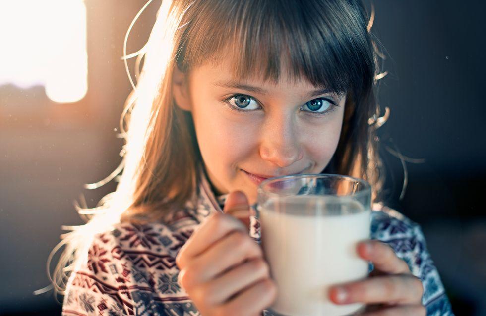 ¿Por qué los niños deben tomar lácteos?