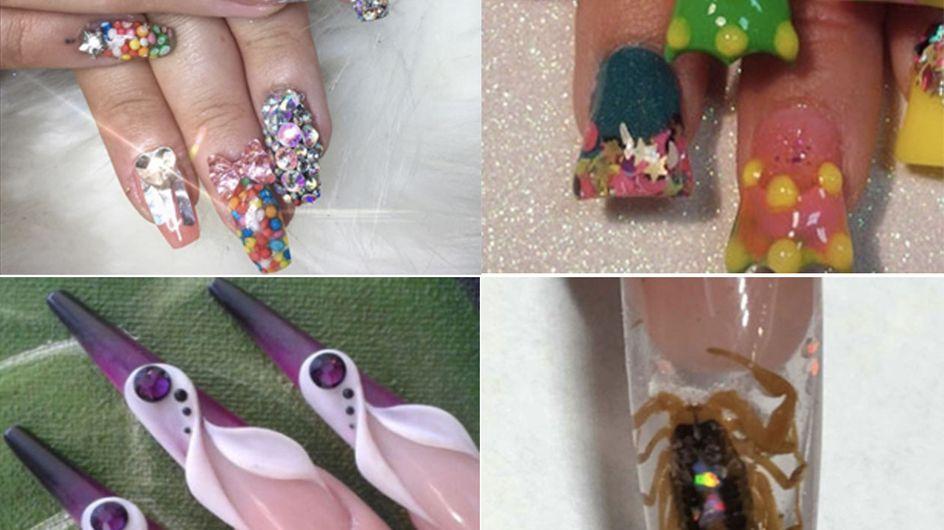 19 Of The Weirdest Nail Art Trends Ever!