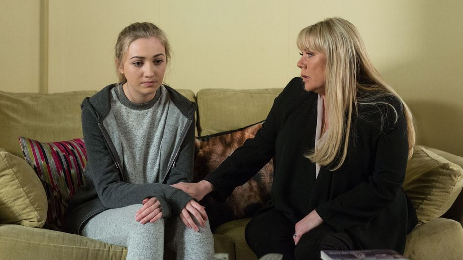 Eastenders 19/06 - Sharon Tries To Find Out The Truth About Louise