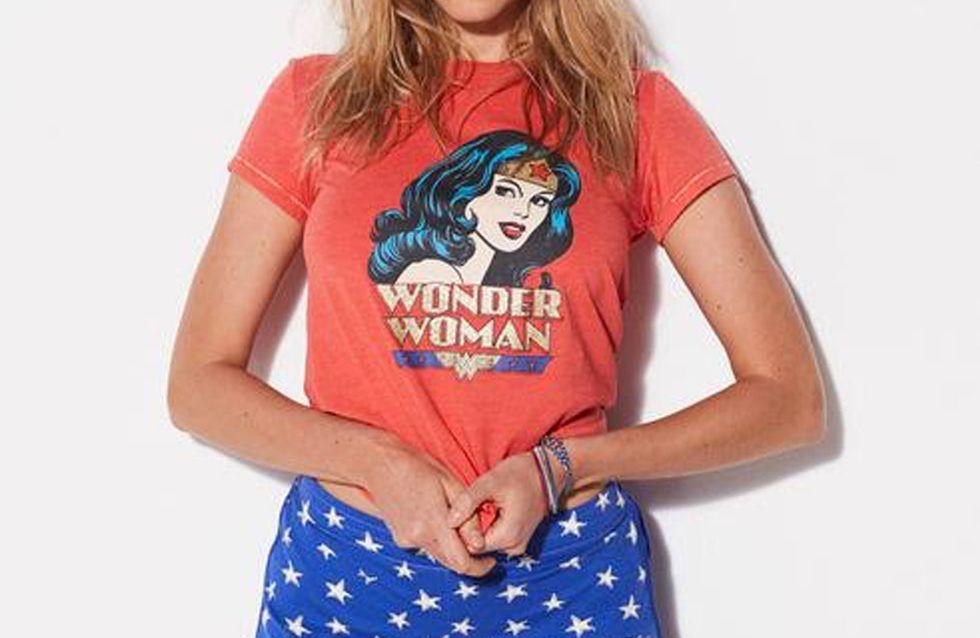 Notre sélection shopping Wonder Woman pour un super-dressing