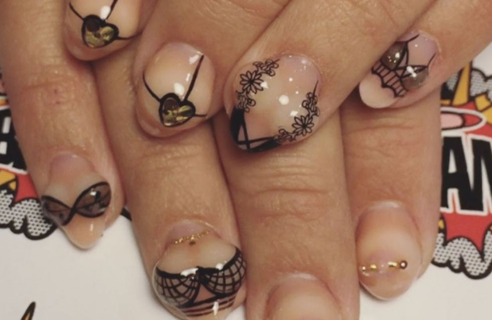 Make Your Nails Look The T*ts With This 3D Boob Manicure