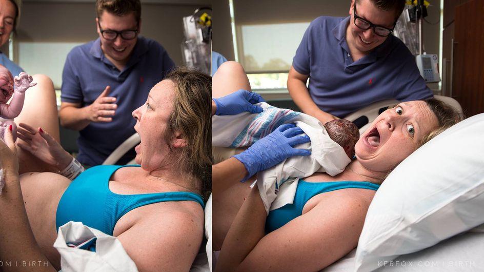 Sie sieht zum ersten Mal ihr Neugeborenes - und ist schockiert!