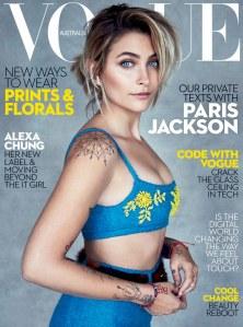 Paris Jackson pour Vogue Australia