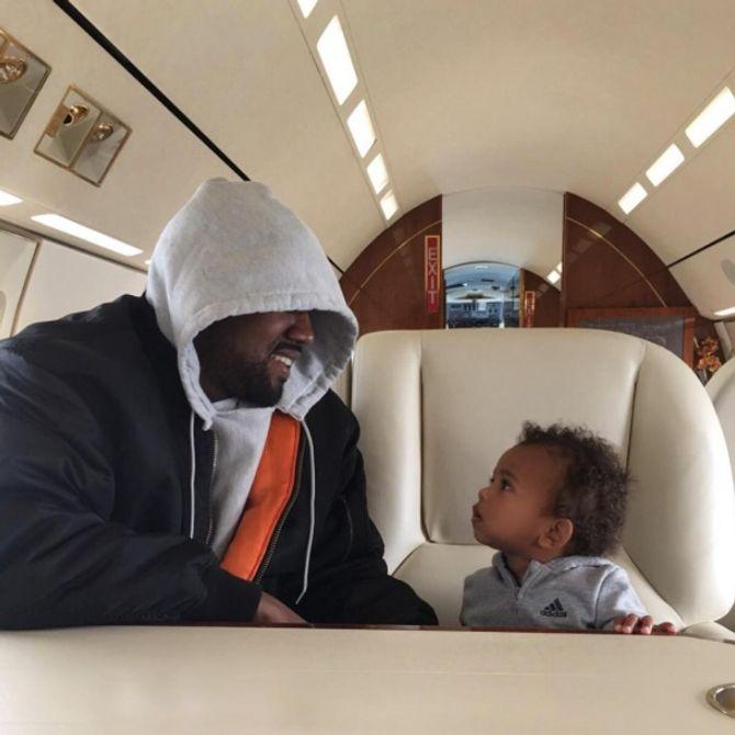 Kanye West et Saint West