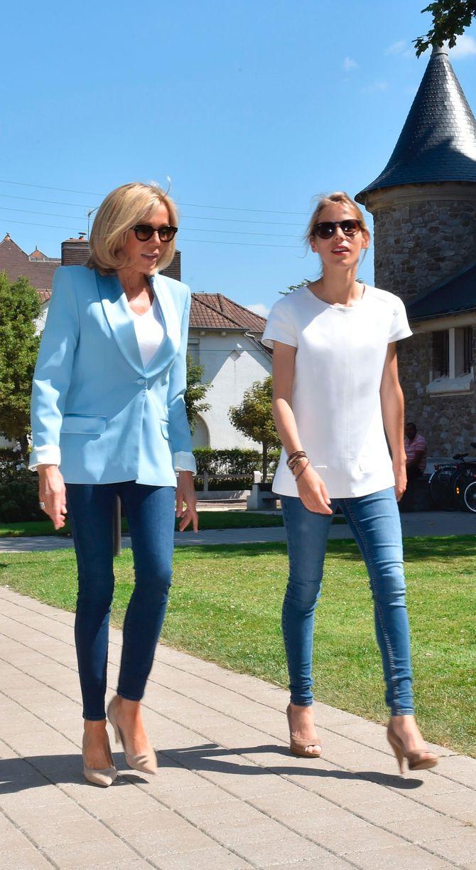 Brigitte Macron et sa fille Tiphaine Auziere