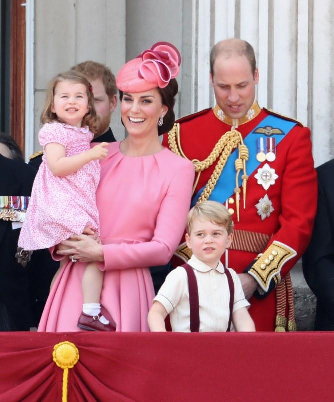 La famille royale réunie à Londres.