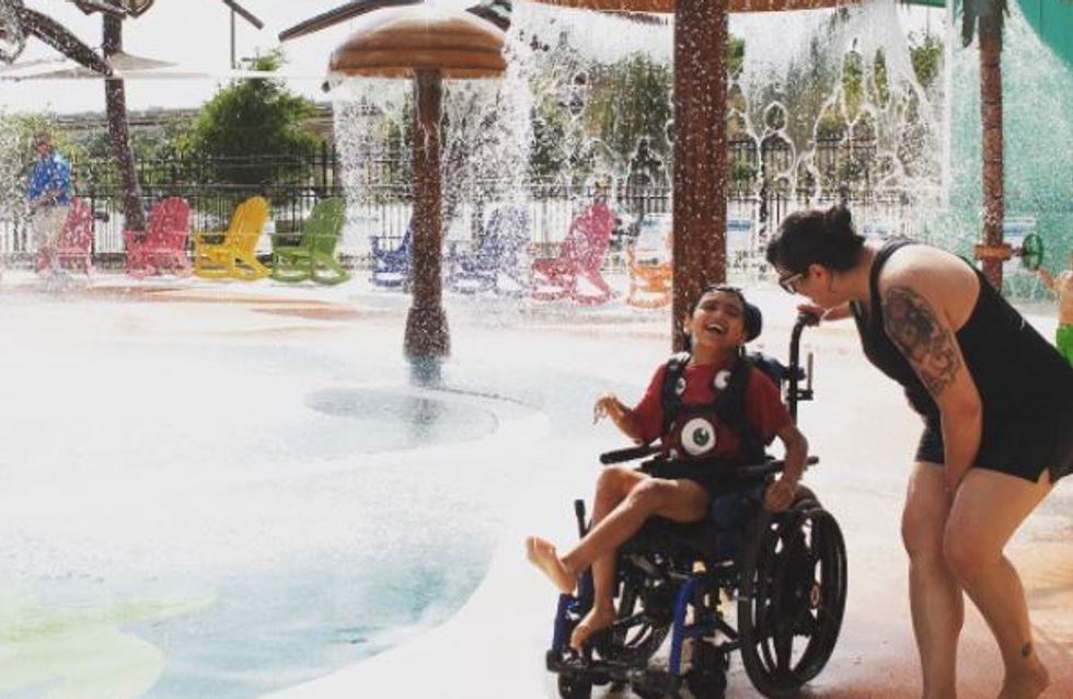 Sommerspaß ohne Grenzen: Der erste Wasserpark für Kinder mit Handicap