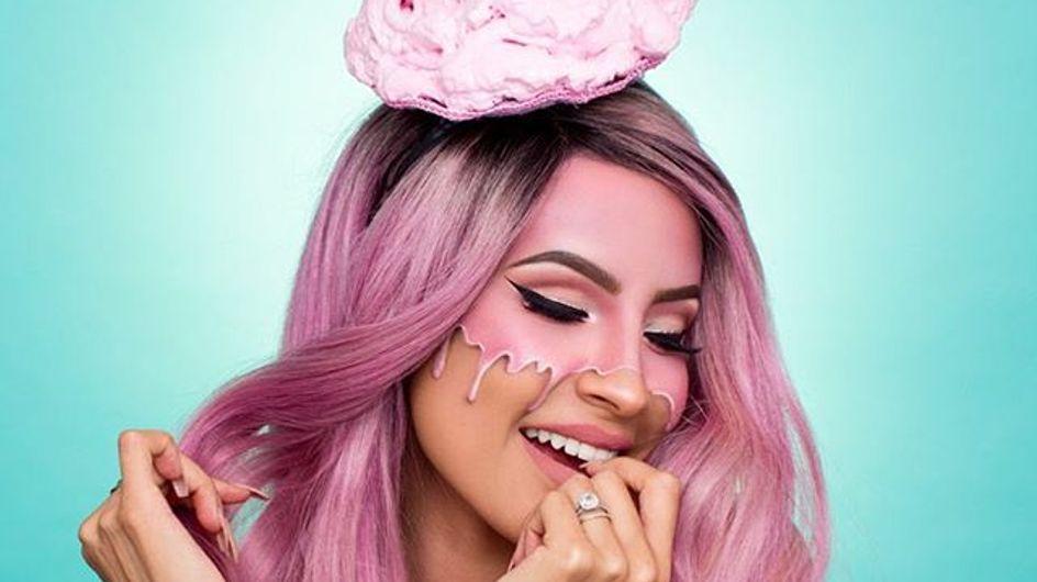 Ice Cream Make-Up, le maquillage le plus rafraîchissant de l'été ! (photos)