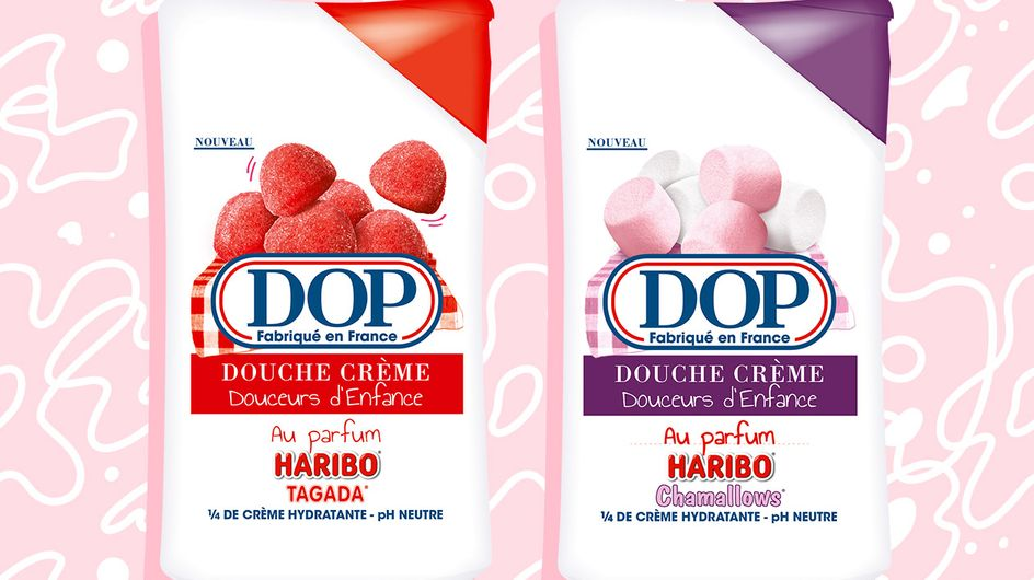 Alerte ! DOP sort de nouveaux gels douche en collab' avec Haribo