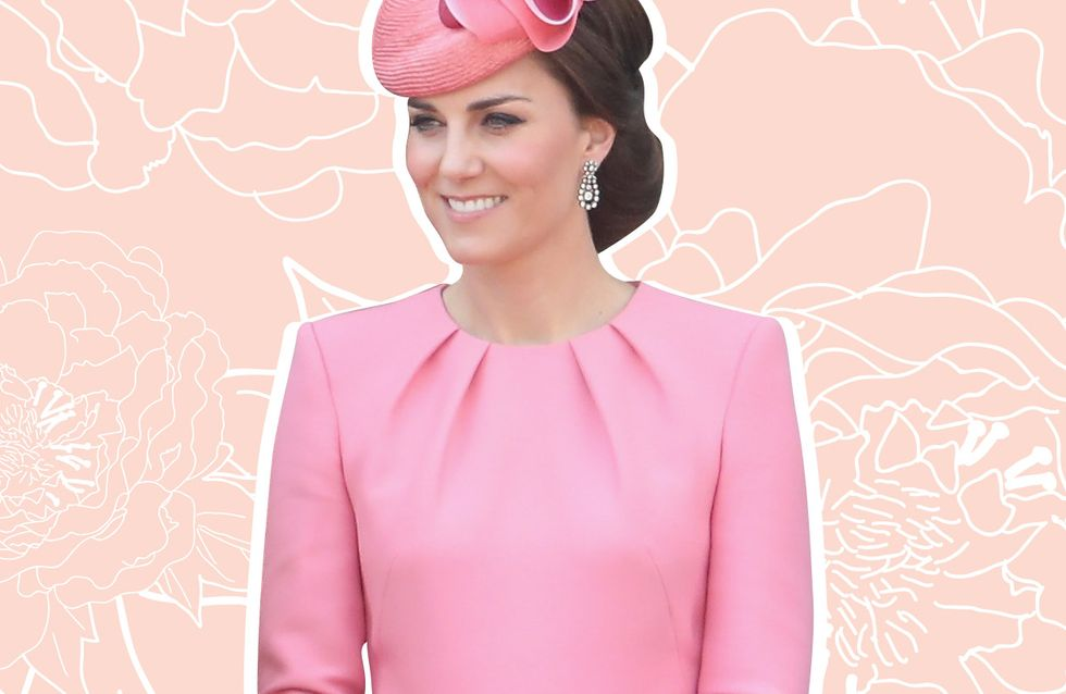 Kate Middleton, craquante en rose bonbon pour l'anniversaire d'Elizabeth II (Photos)
