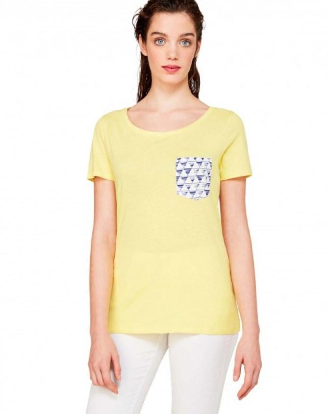 T-shirt avec pochette, Benetton, 17,95 €