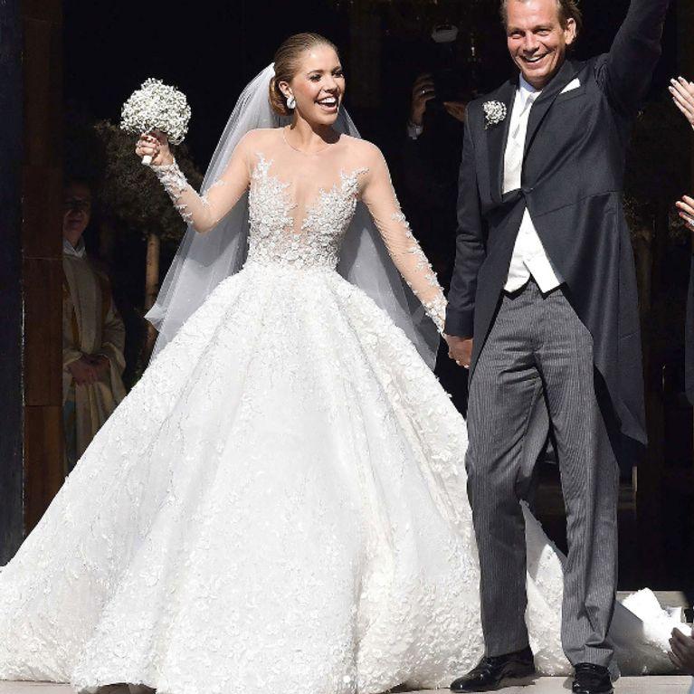 L'incroyable robe à 800 000€ de l'héritiè
