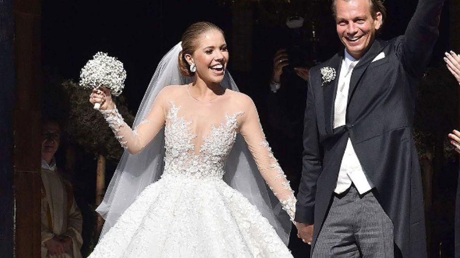 L'incroyable robe de mariée à 800 000€ de l'héritière Swarovski ! (Photos)