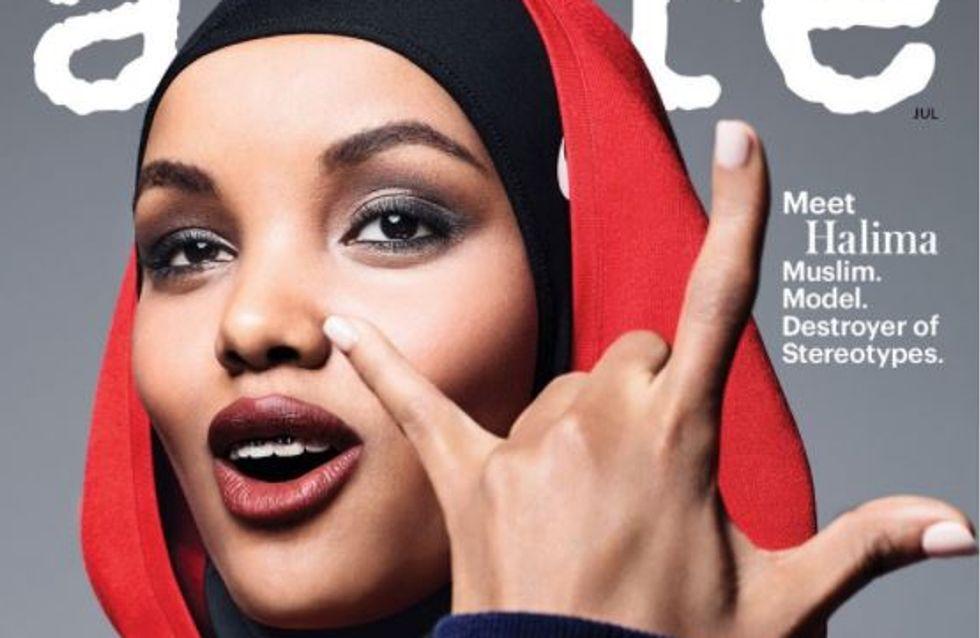 Halima Aden fait la Une d'Allure magazine en hijab, une première ! (Photos)