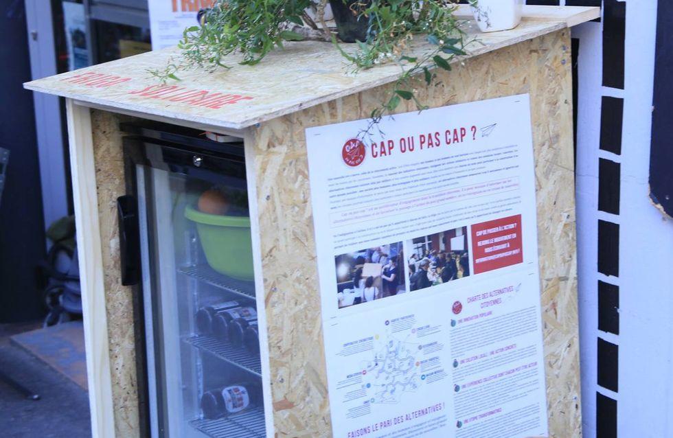 Paris installe son premier frigo solidaire (photos)