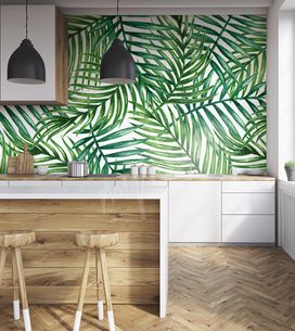 Pimpez votre cuisine avec du papier peint