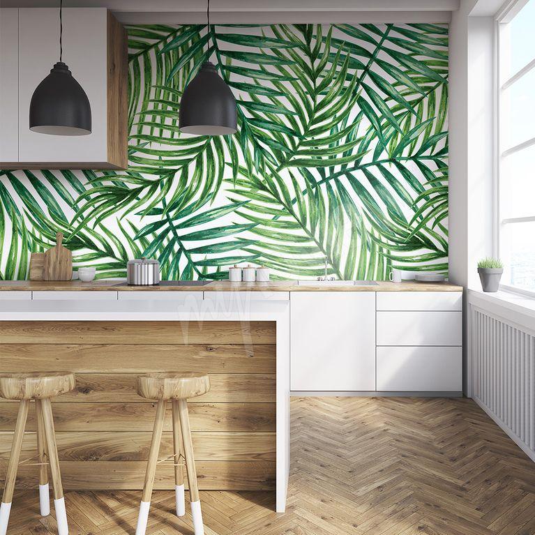 Choisir son papier peint pour sa cuisine - Papier peint cuisine lessivable ...