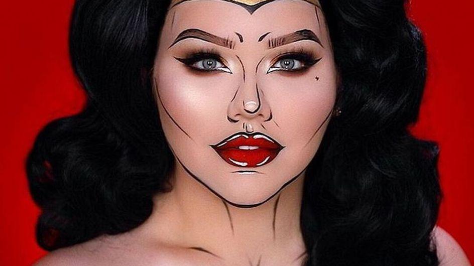 ¡Maquíllate como Wonder Woman!