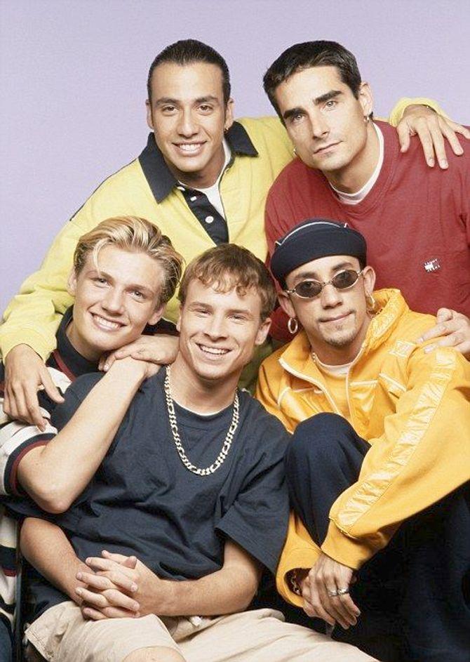Backstreet boys ieri