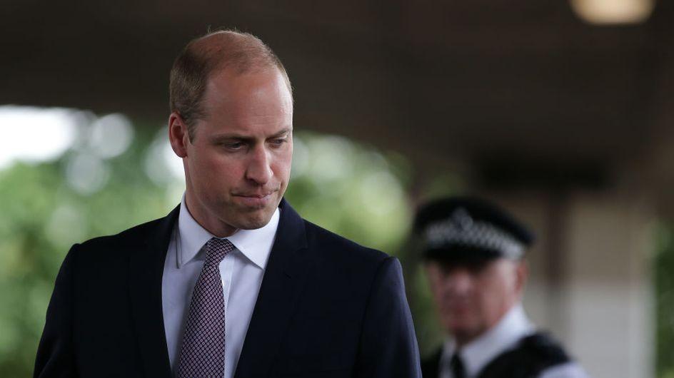 Le prince William a brisé le protocole pour la plus belle des raisons (Photos)