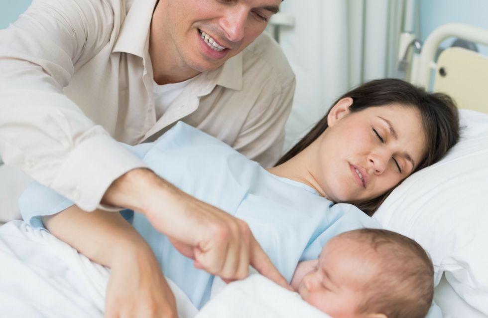 Le 10 immagini di papà in sala parto che ti faranno commuovere!