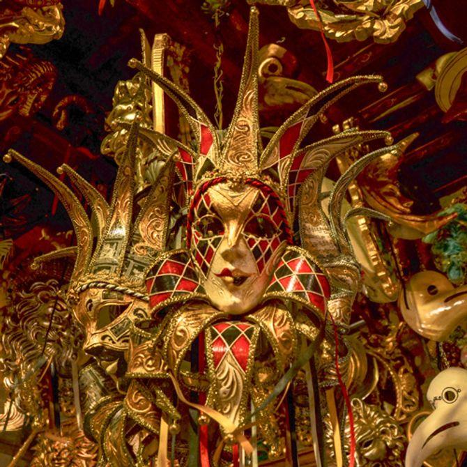 Traditionelle venezianische Masken