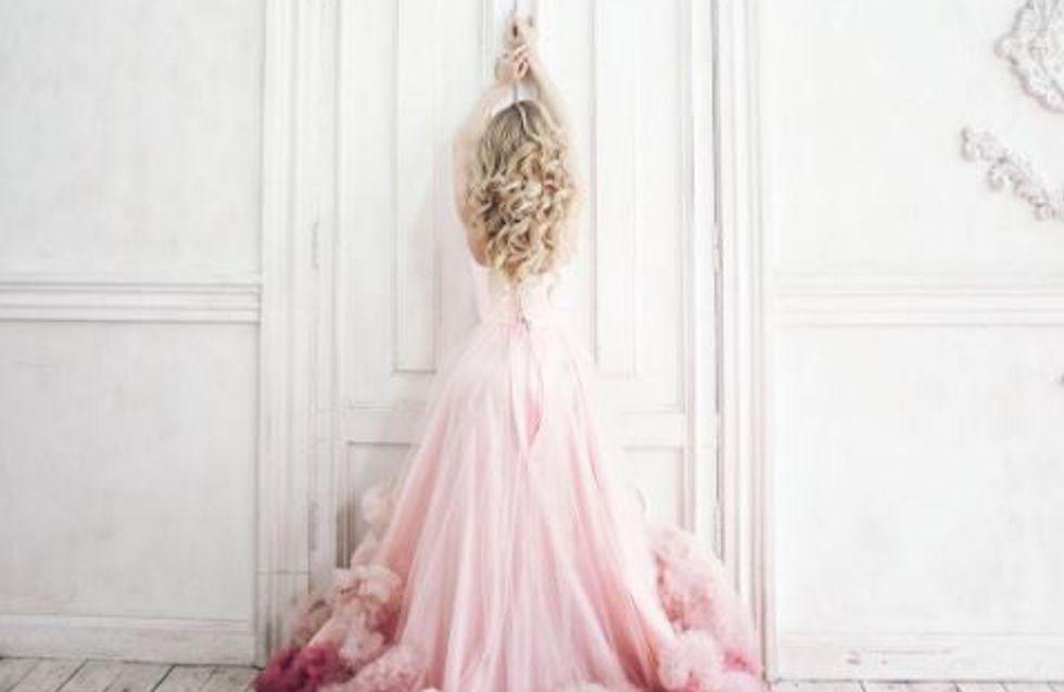 La Robe De Mariee Rose Pastel Grande Tendance Des Millenials