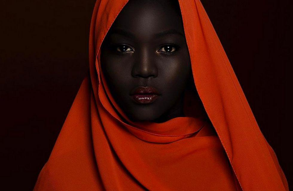 Nyakim Gatwech, a 'Rainha da Escuridão', usa seu Insta para celebrar a beleza da pele negra
