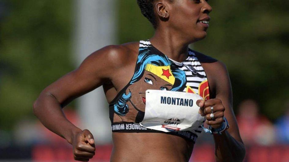 Alysia Montaño, la atleta que ha competido embarazada de 5 meses