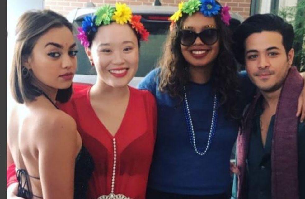 Le cast de 13 Reasons Why réuni à San Francisco pour soutenir la Gay Pride !